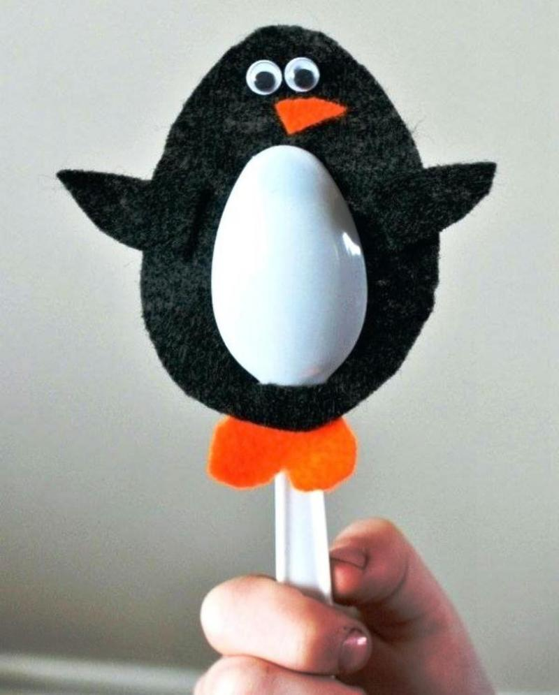penguin mask craft