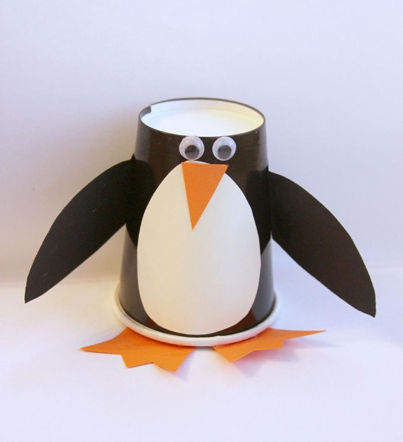 penguin diy craft