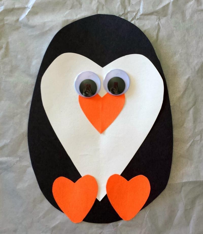 penguin craft images