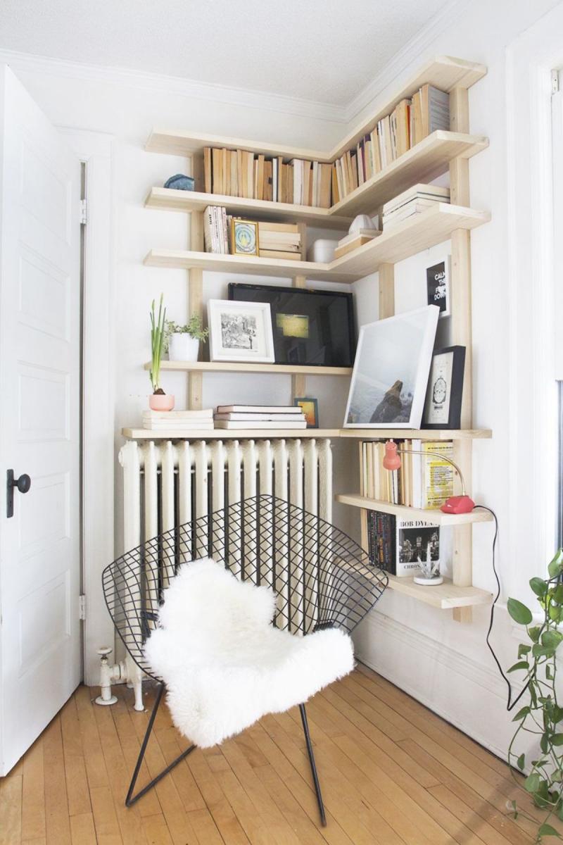 diy built in bookshelves with cabinet below plans
