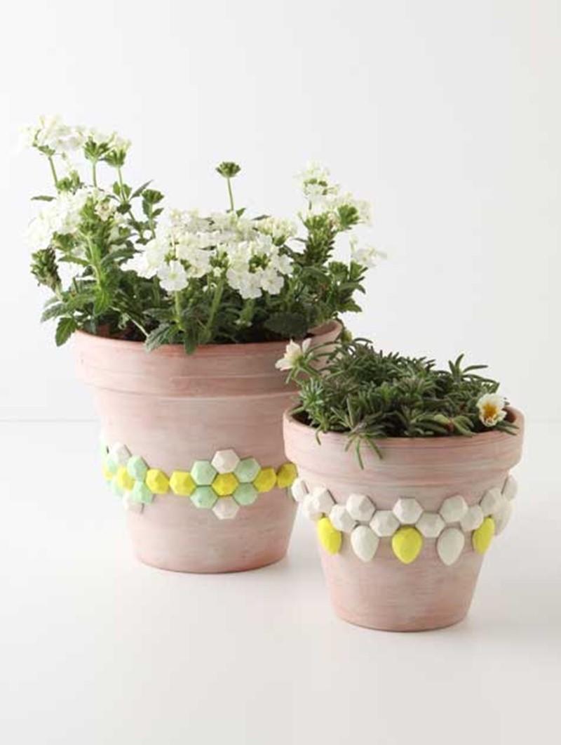 diy flower pot heater