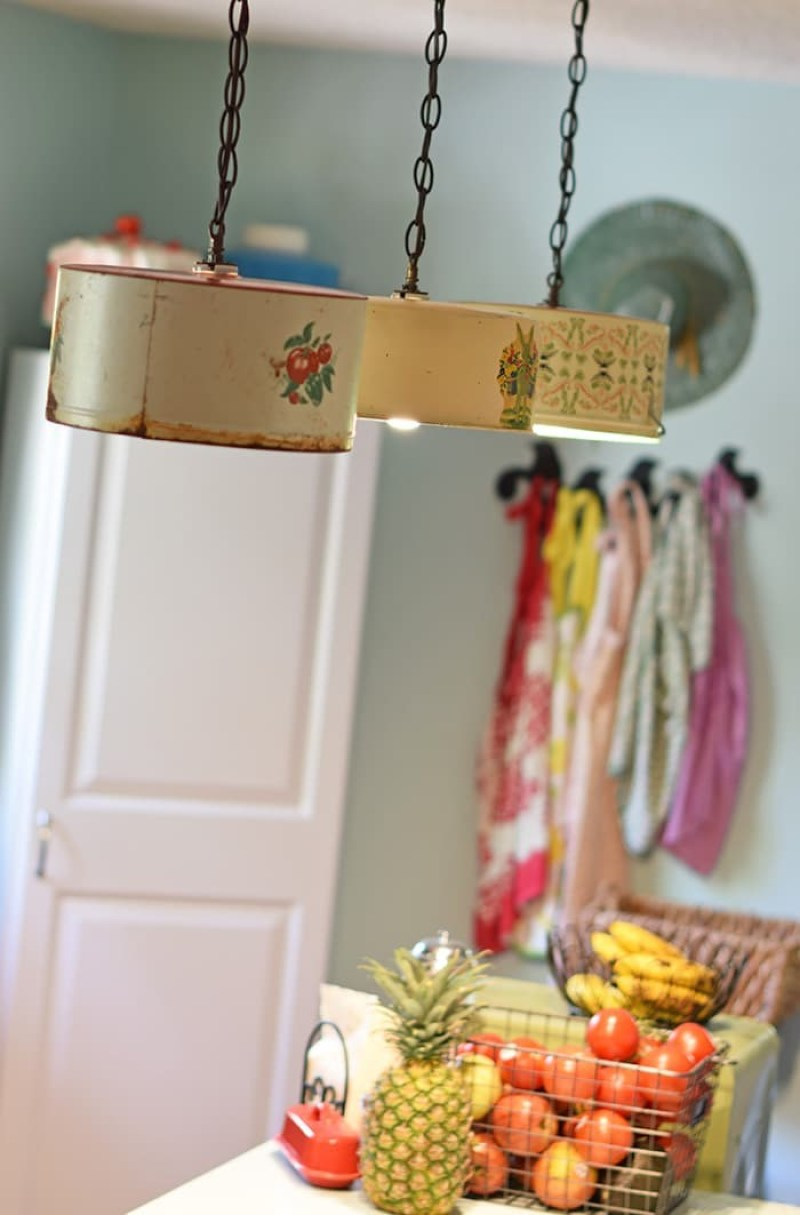 diy pendant light bar
