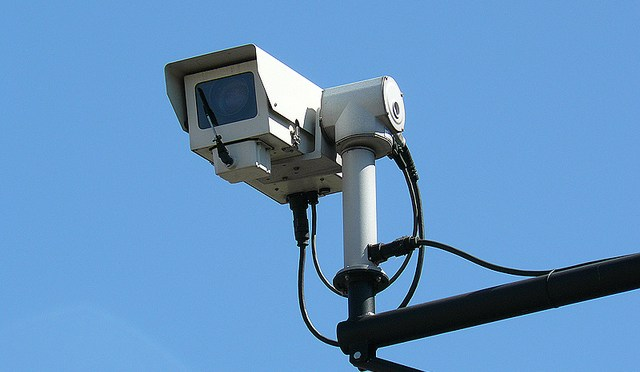 CCTV camera by Mike Fleming @flickr.com CC attribution license