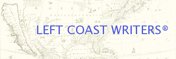 Left Coast Writers banner