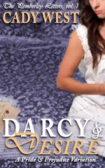Darcy and Desire cover by KD West writing as Cady West