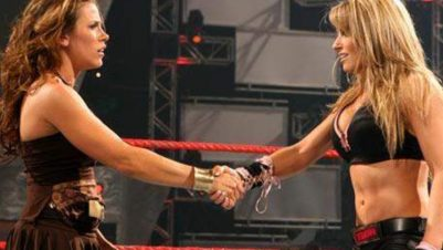 Trish Stratus Replaced By Mickie James Due To Pregnancy Announcement