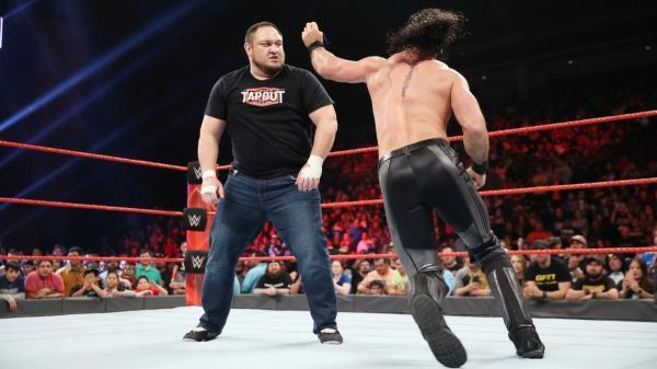 Wrestling Stars React To Samoa Joe's WWE Main Roster Debut ...
