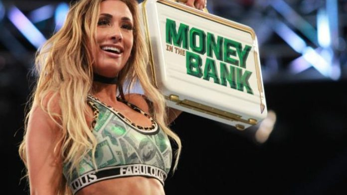 Referee Says He Was Knocked Out When Carmella Tried To Cash In Money In The  Bank