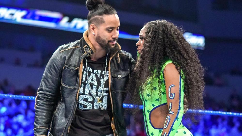 Image result for Jimmy Uso and Naomi image