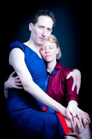 Chris Harper&Victoria Bourne by Claudio Ahlers Portrait Salon 2015