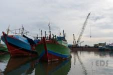 Pelabuhan nelayan.