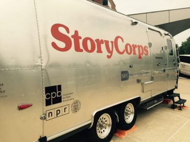 StoryCorps MobileBooth