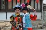 Young Ladies in Costume