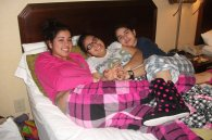 Happy - To watch and hear the girls laughter and cuddling with each other