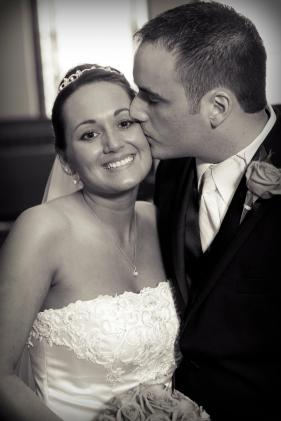 Happy - To be a witness to my son's love and happiness with his new bride Sarah