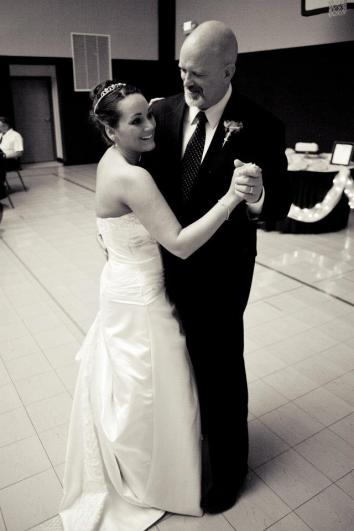 Happy - To watch Mike dance with our new daughter in law