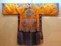 A silk robe.