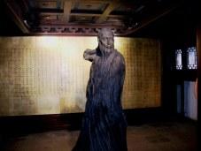 Opera house statue in Suzhou, China