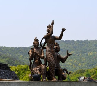 Ling Shan Mountain, home of the Grand Buddha, Wuxi, China