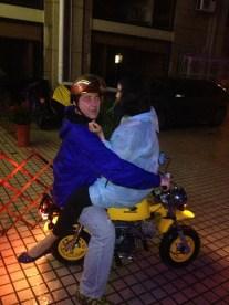 No taxi? No problem....lol