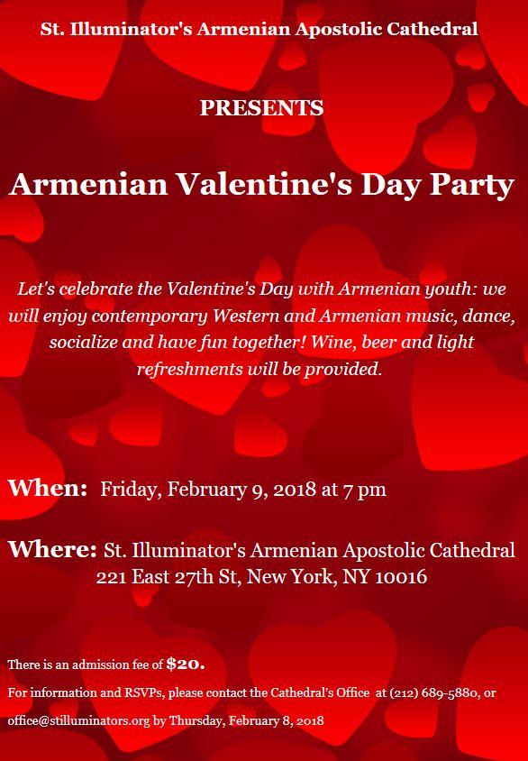 Armenian Valentine's Day Party - St. Illuminator's ...