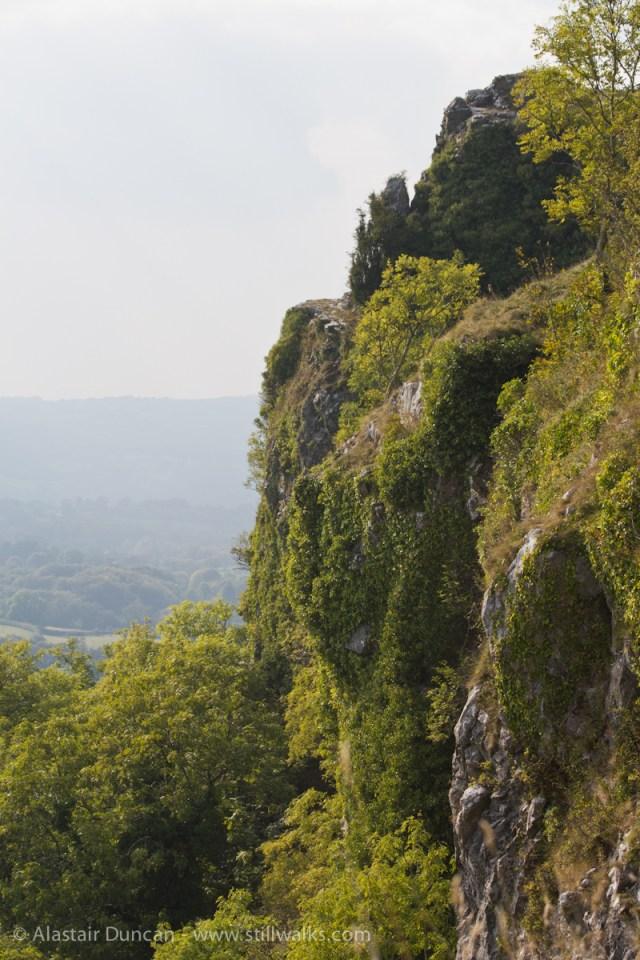 Carreg Cennen landscape