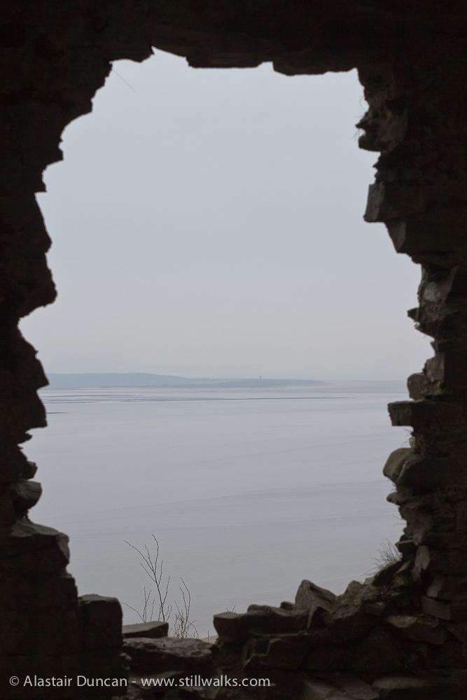 View from Llansteffan Castle