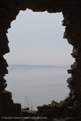 View from Llansteffan Castle