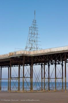 Colwyn Bay Pier structure