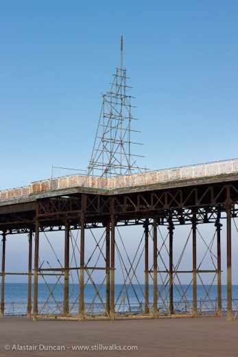 Colwyn Bay Pier structure
