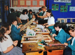 School Tapestry Weaving Workshop