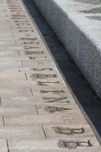 names in paving