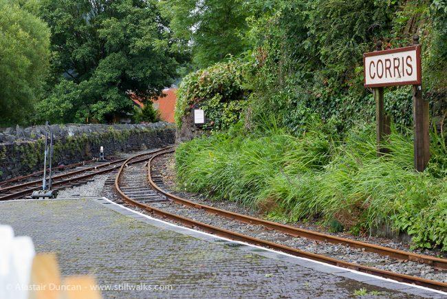 Morris railway station