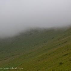 Descending mist