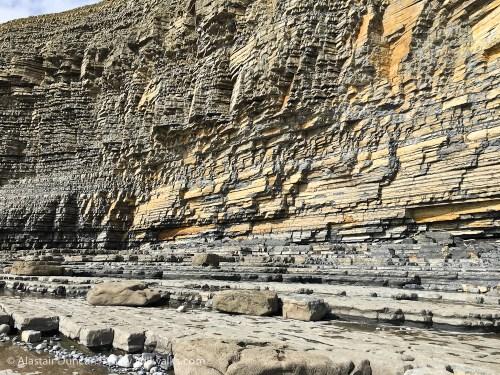 cliff colour