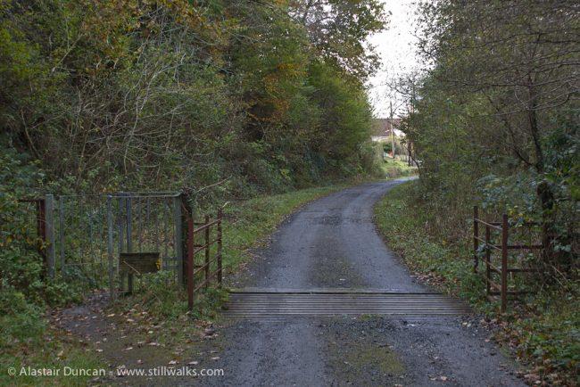 Cwm Dulais track
