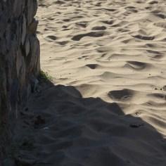 wall and sand shadows
