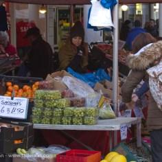 Carmarthen market stall