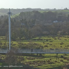 River Towy footbridge