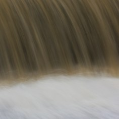 slow shutter speed on water