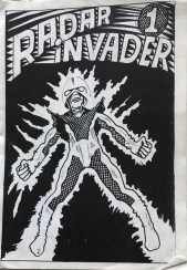 Radar Invader by Jak Sowerby
