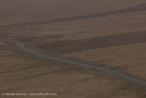 A misty Mawr road