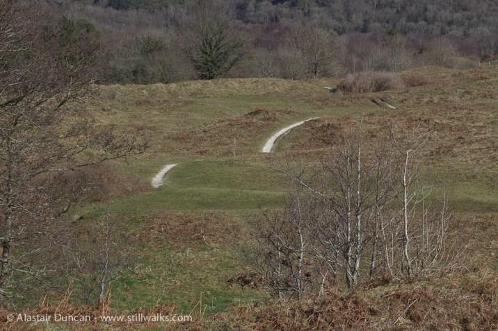 Oxwich Burroughs footpath