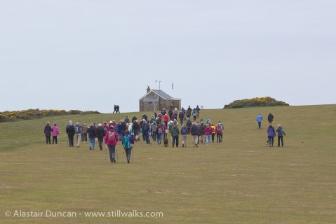Memorial walkers