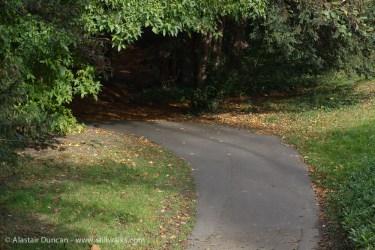Stratford Park - footpath