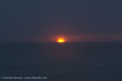 April - Sunset Aberystwyth