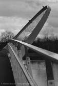 Millennium Footbridge - monochrome
