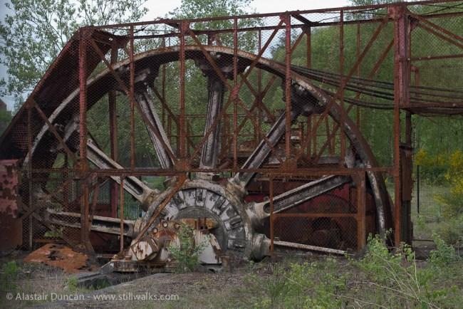 Rusty wheel