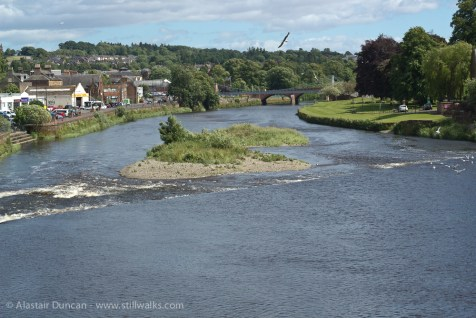 The Nith at low tide