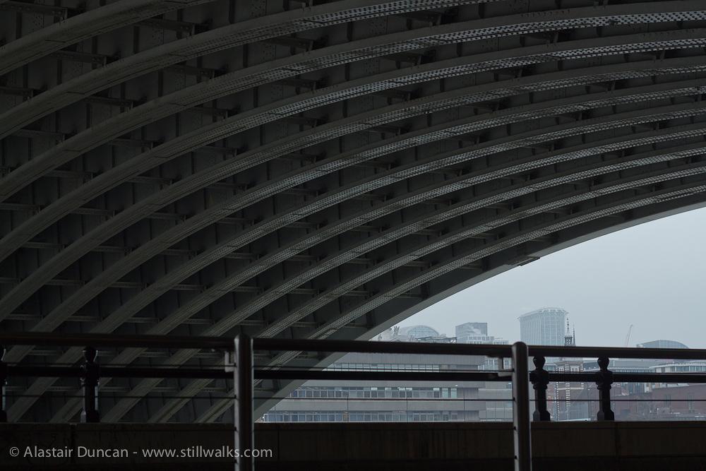 Under Blackfriars Bridge